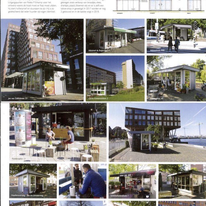 Kiosken bouw in amsterdam